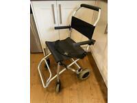 Ultra lightweight travel wheelchair