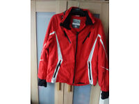 Beautiful Bright Red Cycling Jacket / Coat