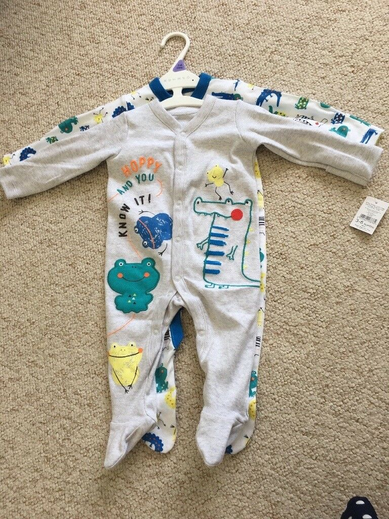 BNWT baby boy baby grows from 3-6 months | in Cyncoed, Cardiff | Gumtree