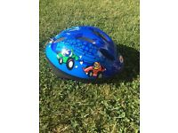 Small boys bike helmet