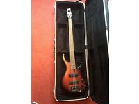 Ibanez EDB600 Red/Black Sunburst Bass Guitar