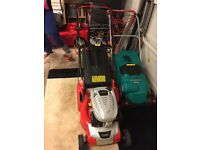 Cobra lawn mower new condition and strimmer