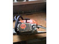 """STIHL MS 261C 2013 model 2 Stroke Petrol Chainsaw, 37cm/15"""" bar, Serviced."""