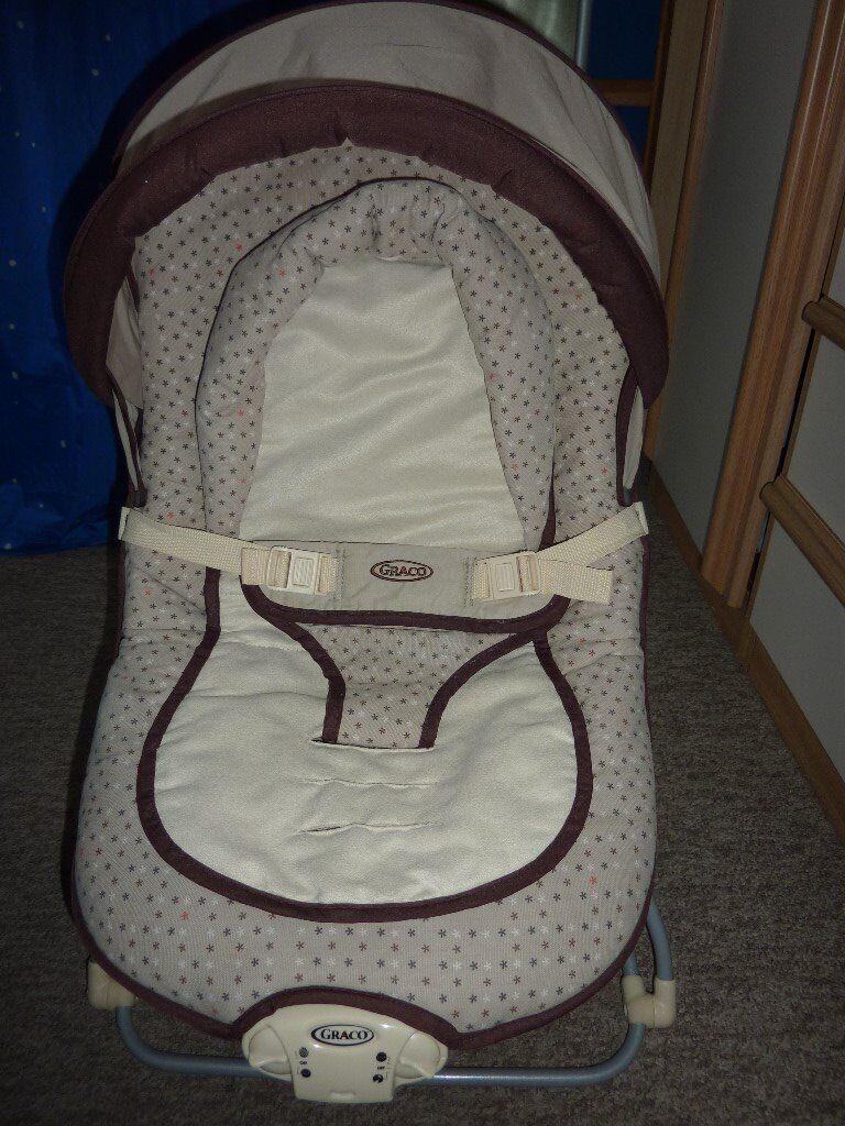 Graco folding baby swing