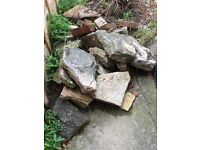 Rockery Paving Slabs - free!