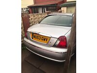 Immaculate rover 75 2003