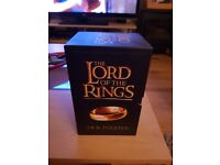 Lord of the rings 7 book set/collection brand new unwanted gift