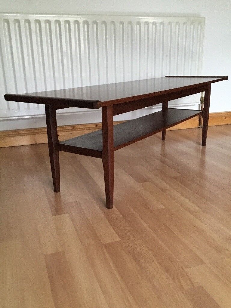 Vintage Retro Mid Century Myer Teak Coffee Table