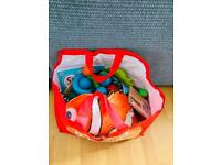 Free bag of toys