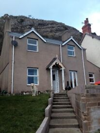 3 bedroom house below the Great Orme