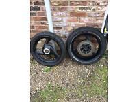 Yamaha Fazer wheels