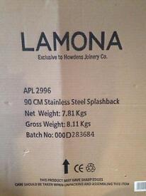Lamona stainless steel splash back