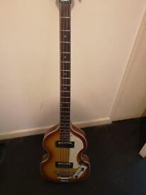 Violin bass guitar for sale.