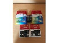 Canon Colour and Black Ink Cartridges