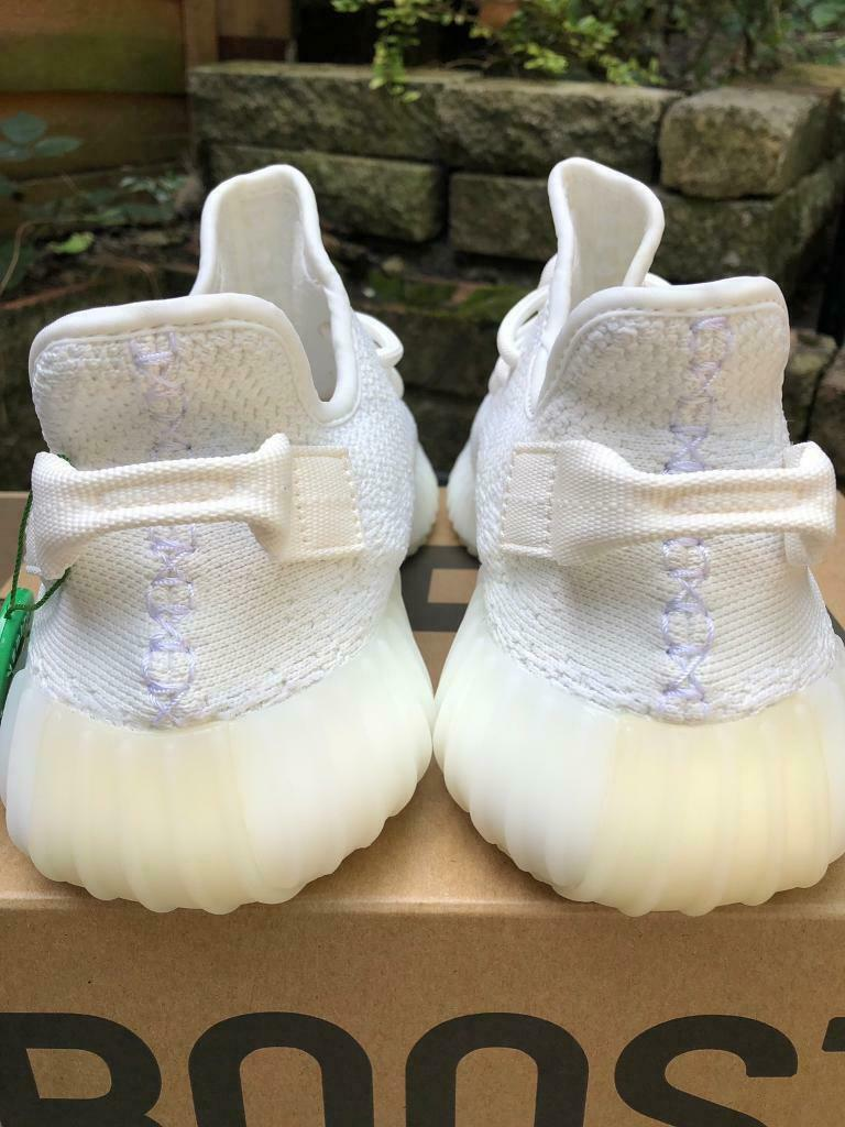 huge discount a288c 8a4f1 Adidas yeezy boost v2 350 cream triple/white uk8 stockx tag on | in Acton,  London | Gumtree