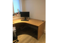 Office Desk 160x120x80 cm and drawers * £270.00 *