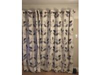 NEXT Mono Leaf Curtains