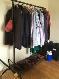 Very Sturdy Clothes Hanging Rail