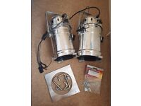 2 x stage lights. Encore par 64 classic pro. EXCELLENT CONDITION. ONLY USED ONCE!