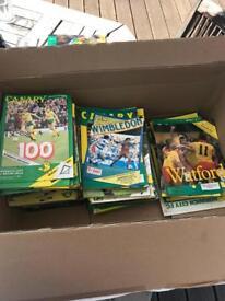 Norwich City F.C. match day programmes