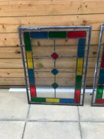 Stained glass units