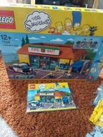 Lego Simpsons - The Kwik-E-Mart 71016 - Complete with Box and instructions