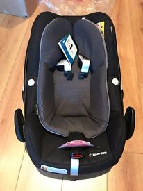 Maxi-Cosi Pebble Plus baby car seat Grp0+ Black Raven - Brand New Boxed