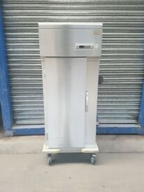 commercial upright single door chiller fridge stainless still blast chiller + 1 to -10 holding temp