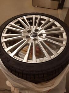 225/40/18 winter tire/wheel package Ford Focus