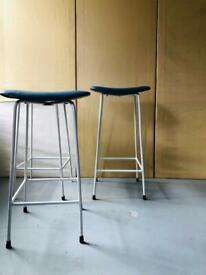 Frank Guille Kandya stalls, mid century modern Blue