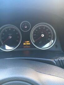Vauxhall Astra blue 1.6