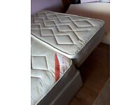 Single divan with pull put guess bed