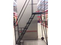LADDERS FOR WAREHOUSE AIRPORT LADDERS AND PALLET RACKING