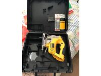 Dewalt jig saw tool only and case