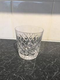 Set of 6 royal crystal rock glasses
