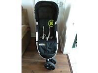 Cassotto koochi pram / buggy with rain cover