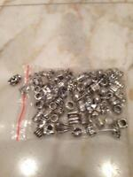 Pandora Silver Charms & Murano Beads For Pandora Bracelets New