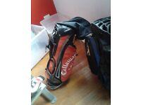 CALLOWAY GOLF CLUB BAG (USED) £25