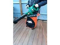 Black & Decker vacuum and Leaf blower