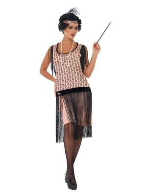20'S FLAPPER GATSBY CHARLESTON DRESS AND ACCESSORIES - Flapper Dress Accessories