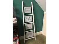 Ladder picture frames