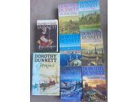 Set of 8 Dorothy Dunnett Historical Novels