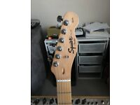 "Squier Tele ""fender"" in Olympic white for sale"