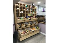 Handmade Cupboard / Shelving - Perfect for Cafes / Coffee shops / Restaurants / Bars etc.