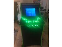 4 Player Arcade Machine Custom Build