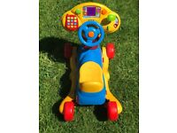 Vtech grow & go ride on for babies toddlers
