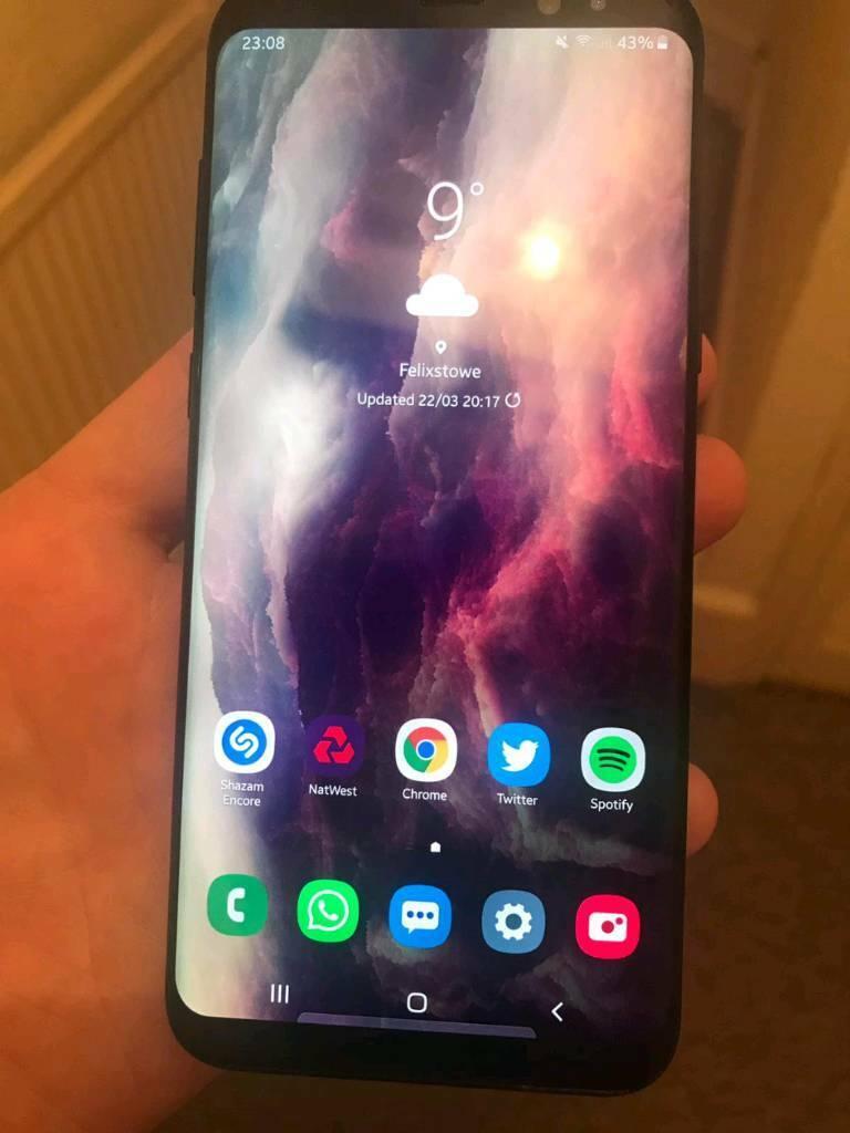 Samsung S8 plus  1 month old | in Felixstowe, Suffolk | Gumtree