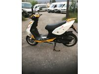 50cc scooter Sukida sport man 2 with full mot