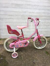 Child's Raleigh bike age 3-5 years
