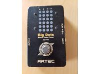 Artec Big Dots Guitar Tuner / Tuning Pedal (like Boss TU-2)